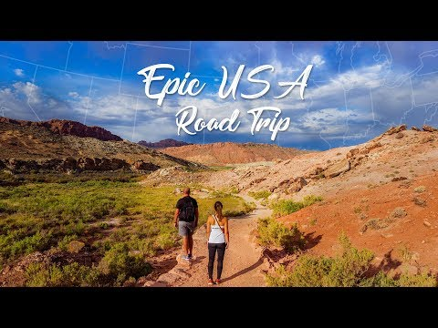 EPIC USA Road Trip! (2,361 Miles, 21 Days, 7 States and 6 Nat'l Parks)