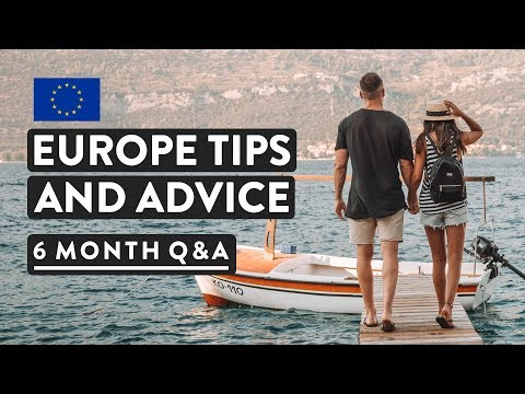 EUROPE Q&A + TIPS AND ADVICE | Cheapest European Countries? Safety? Visas?