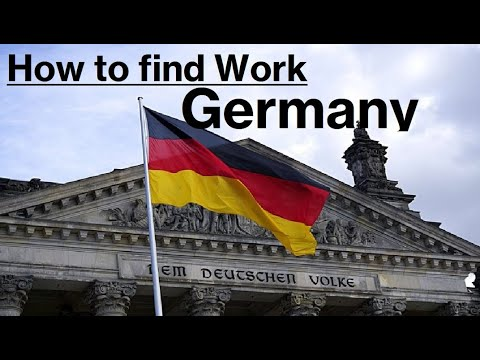How to work in Germany//New jobs in Germany//Latest requirements //How to get job in Germany