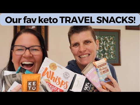 Best Keto Travel Snacks   What we take in our carry on!