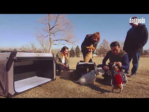 The Foldable Travel Kennel + Crate by DogGoods – High Quality Soft Dog Crate