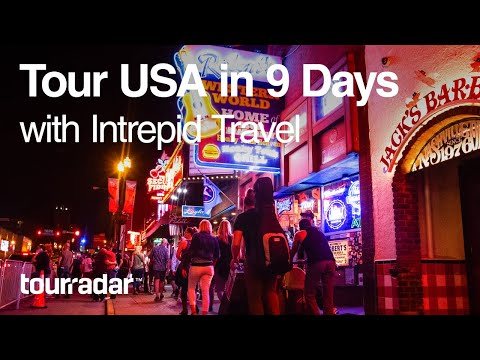 Tour the USA in 9 Days with Intrepid Travel