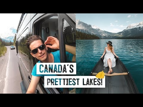 Final ROAD TRIP DAY! – Lake Louise & Emerald, CANADA'S PRETTIEST LAKES! (Banff National Park)