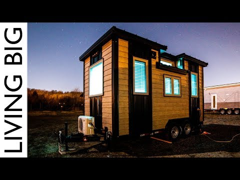 Living Big in a Tiny House: Our Traveling Tiny Home In North America