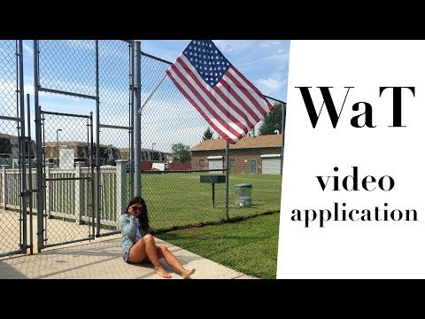 Application video for Work and Travel USA