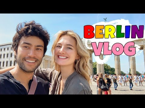 Berlin Vlog – Summer In Europe | Celebrating Love & Taking My Boyfriend To Pride | Sanne Vloet