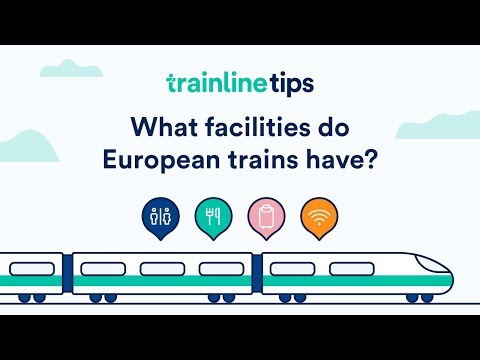 Luggage and facilities on European trains – How to travel by train in Europe