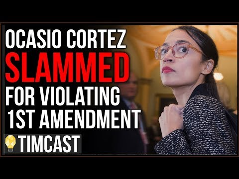 Ocasio Cortez SLAMMED For Violating First Amendment, Rejects Federal Court Ruling