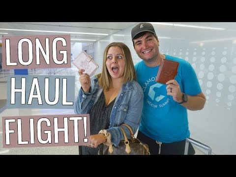Flying to London! (first time in Europe together + long haul flight)