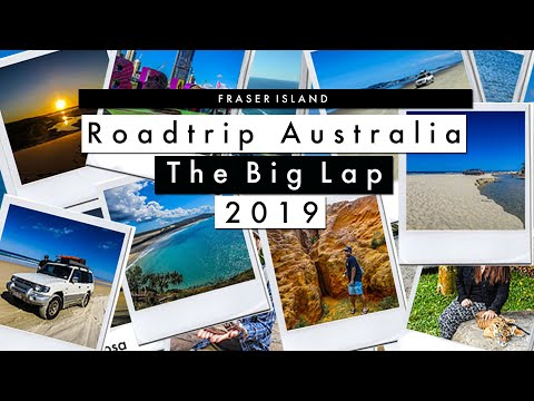 Road Trip Australia The Big Lap | Living in a 4×4 | Minimal Life | 5 days on Fraser Island  | Ep3