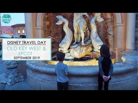 Disney Travel Day- Disney's Old Key West and EPCOT