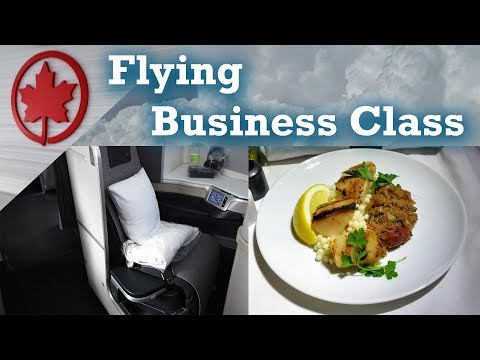 Reviewed!  Air Canada business class experience for 2 to Europe   Travel insider review