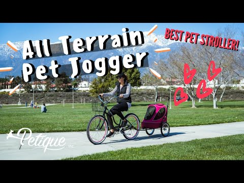 Easy Pet Traveling with the Smoothest Ride: All Terrain Pet Jogger