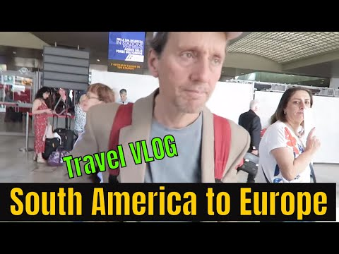 30 Hours Travel, 8 Hours Sleep! South America to Europe Travel VLOG
