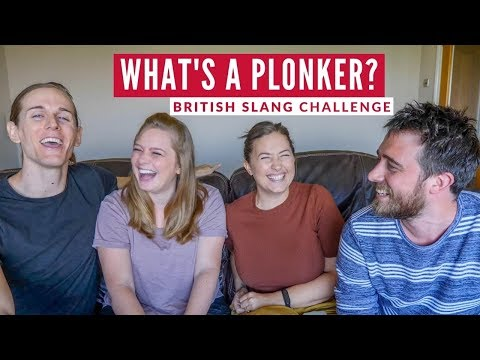 British Slang Challenge vs Americans   Travel Beans & The Way Away In England Part 3