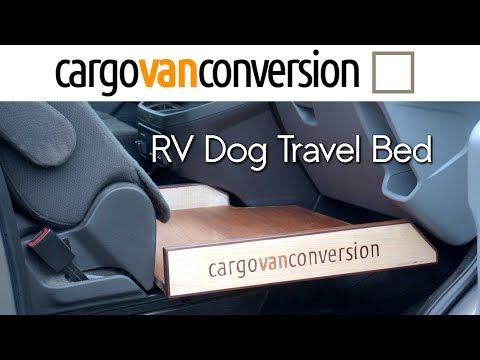 RV Pet Travel Bed
