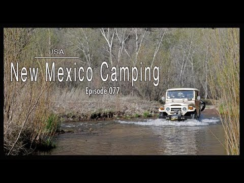 Adventure Travel USA – FJ40 New Mexico Camping (Tim and Kelsey get lost Ep 077)