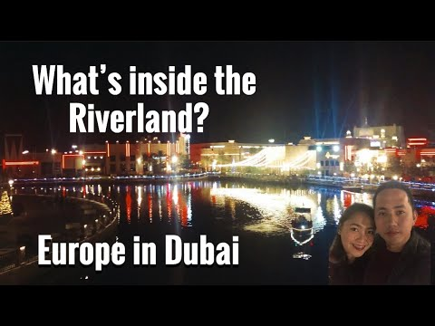 Dubai Riverland | Free Entrance | Europe In Dubai| Travel vlog |Part 1