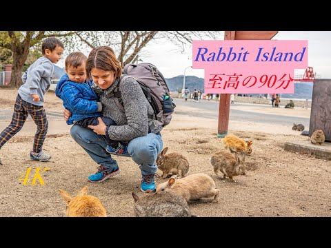 Our Family's Rabbit Island Experience / Japan Trip 2020 (4K)