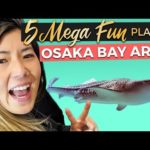 5 FUN Things to do in OSAKA BAY Area | Japan Travel Guide (2020)