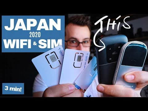 BEST Japan Travel Pocket WIFI & SIM 2020 – (in 3 Min!)
