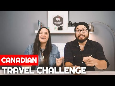 WE DID SOMETHING CRAZY! | Canadian Travel Challenge