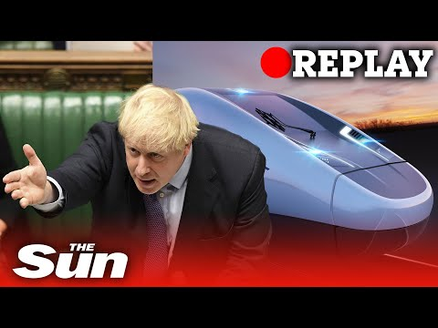 HS2: PM Boris Johnson gives green light to the high-speed rail line – REPLAY