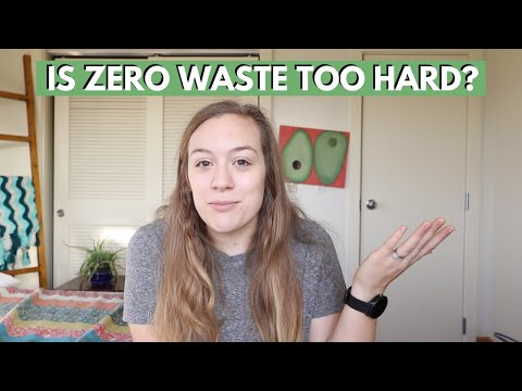 WHAT IS ZERO WASTE   Why should I live sustainably?