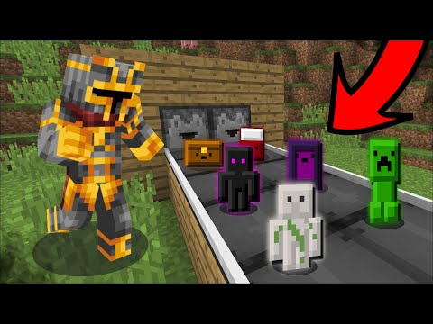 Minecraft INVENTORY PETS CONVEYOR BELT DROPPER MOD / FIND THE BEST PET TO HAVE IN MIENCRAFT !! Mods