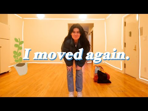Moving in NYC Vlog Part 1: apartment hunting, packing, surviving