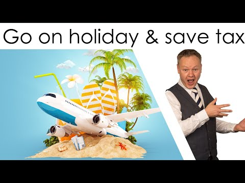 Claiming holiday costs as a business expense to save tax from @HMRCgovuk