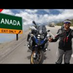 Cross the Border from USA to Canada on BMW R1250 GSA – Day 25