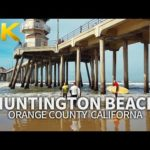LOS ANGELES – Huntington Beach, Orange County, California, USA, Travel, 4K UHD