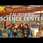 LOS ANGELES – California Science Center, Los Angeles, California, USA, Travel, 4K UHD