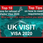 Top 10 reasons for refusal of UK Visitor Visa 2020 – Top Tips and how to meet the requirements